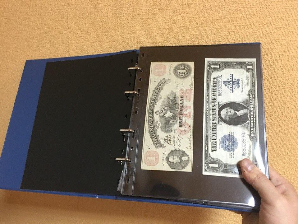 Хранение и систематизация банкнот