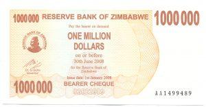 1 млн долларов