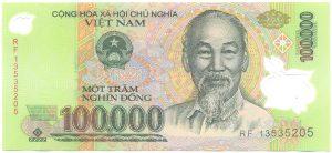 100 000 донг