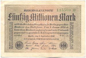 50 млн марок