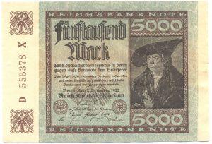 5000 марок