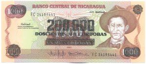 200 000 кордоб